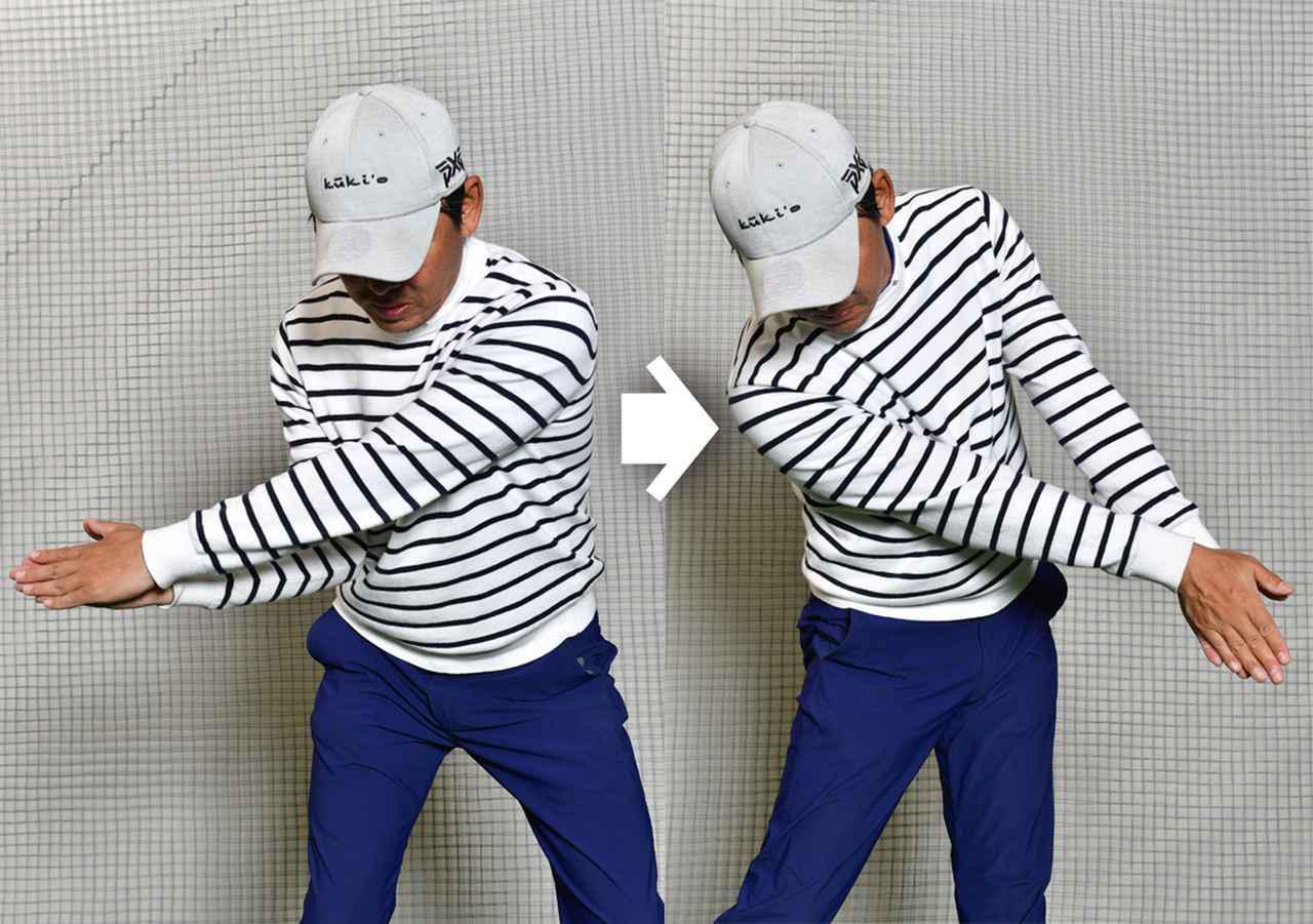 画像: 前腕をちょっと回旋します