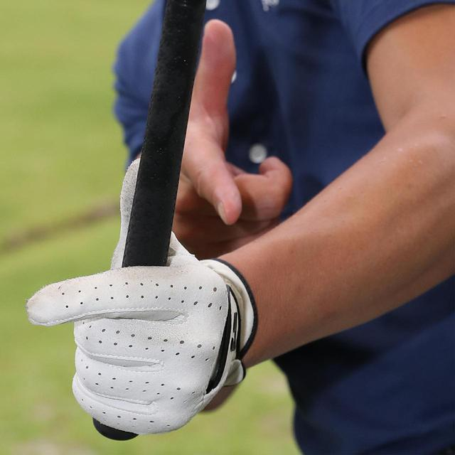 画像: 左手甲の張りがなくなる