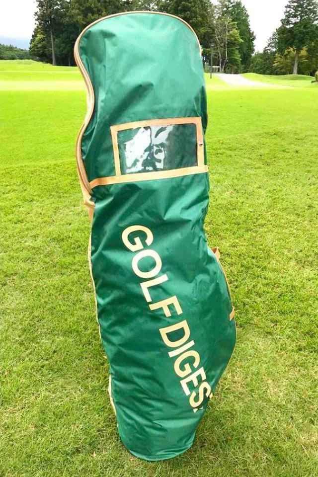 画像: ゴルフダイジェスト オリジナルのトラベルケース