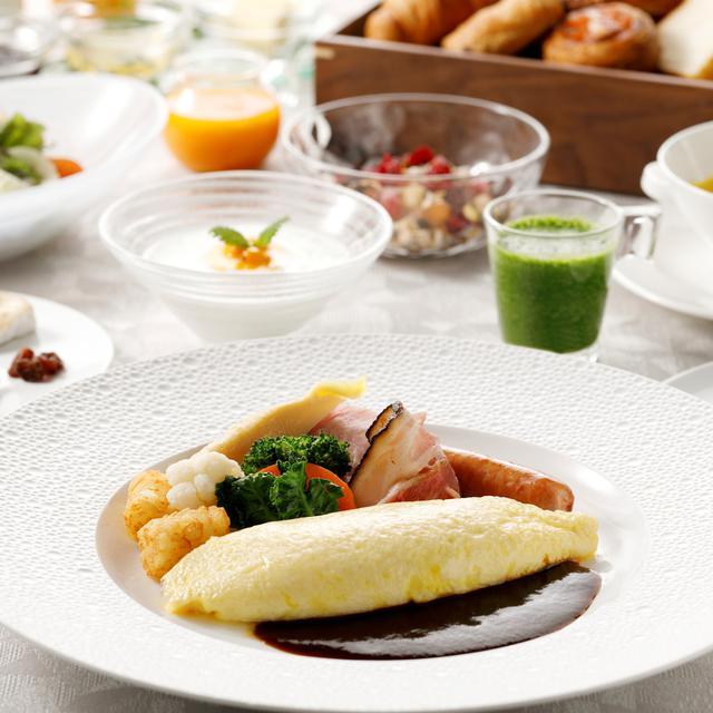画像: 朝食セット一例
