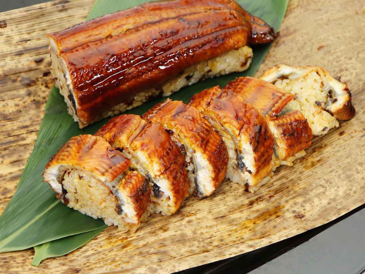 画像: うなぎの棒寿司 2500円