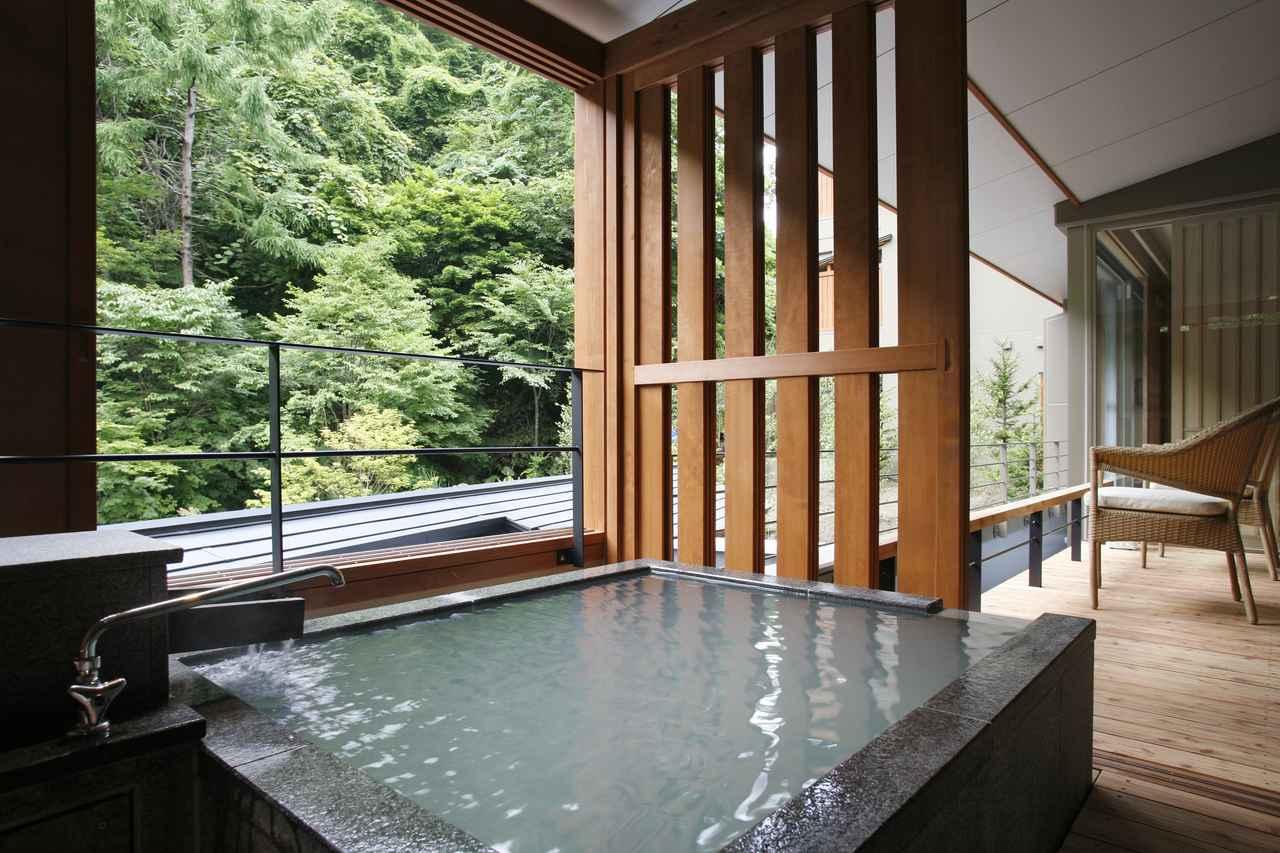 画像: 和洋室露天風呂付Dタイプ露天風呂
