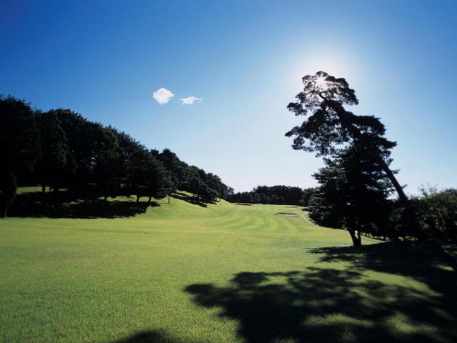 画像: 青梅ゴルフ倶楽部 東コース3番ホール(386ヤード・パー4)
