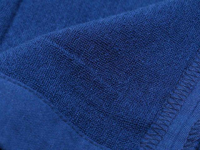 画像: 裏地は起毛。肌ざわり、吸水性は、高品質なタオルならでは