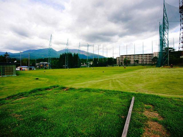 画像: プラス500円で天然芝の打席も選べる「みよたゴルフガーデン」