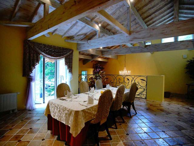 画像: オーベルジュ・ド・プリマヴェーラ レストラン
