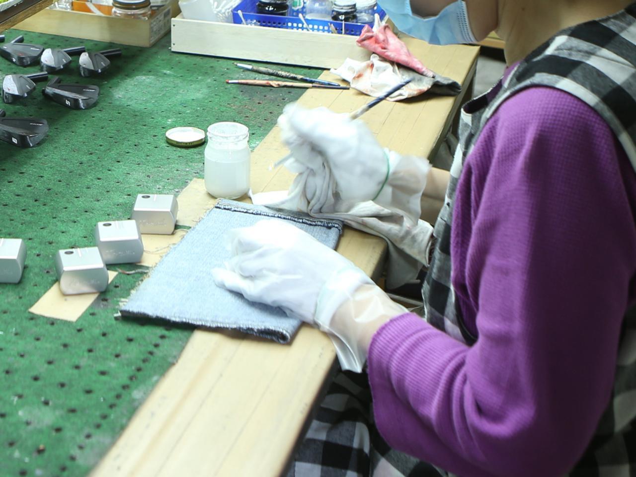 画像4: OH1 ができるまで 匠が小さいヘッドに魂込めてます!