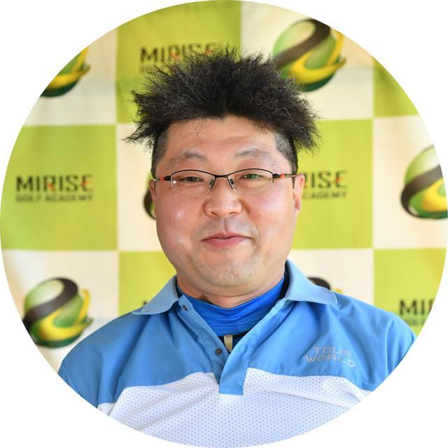 画像: 【教わる人】山本正彦さん 45歳/ゴルフ歴15年 平均スコア100/176㎝
