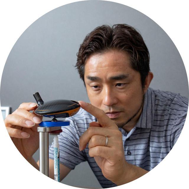 画像: 【解説】松吉宗之さん 21年間フォーティーンでク ラブ開発に携わり、'18年 にクラブメーカー「ジューシー」を設立
