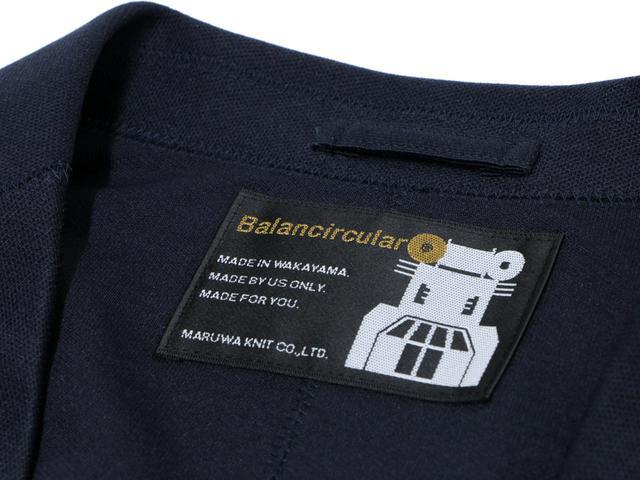 画像: 自信の表れ。タグにも「Balancircular(バランサーキュラー)」の文字が。