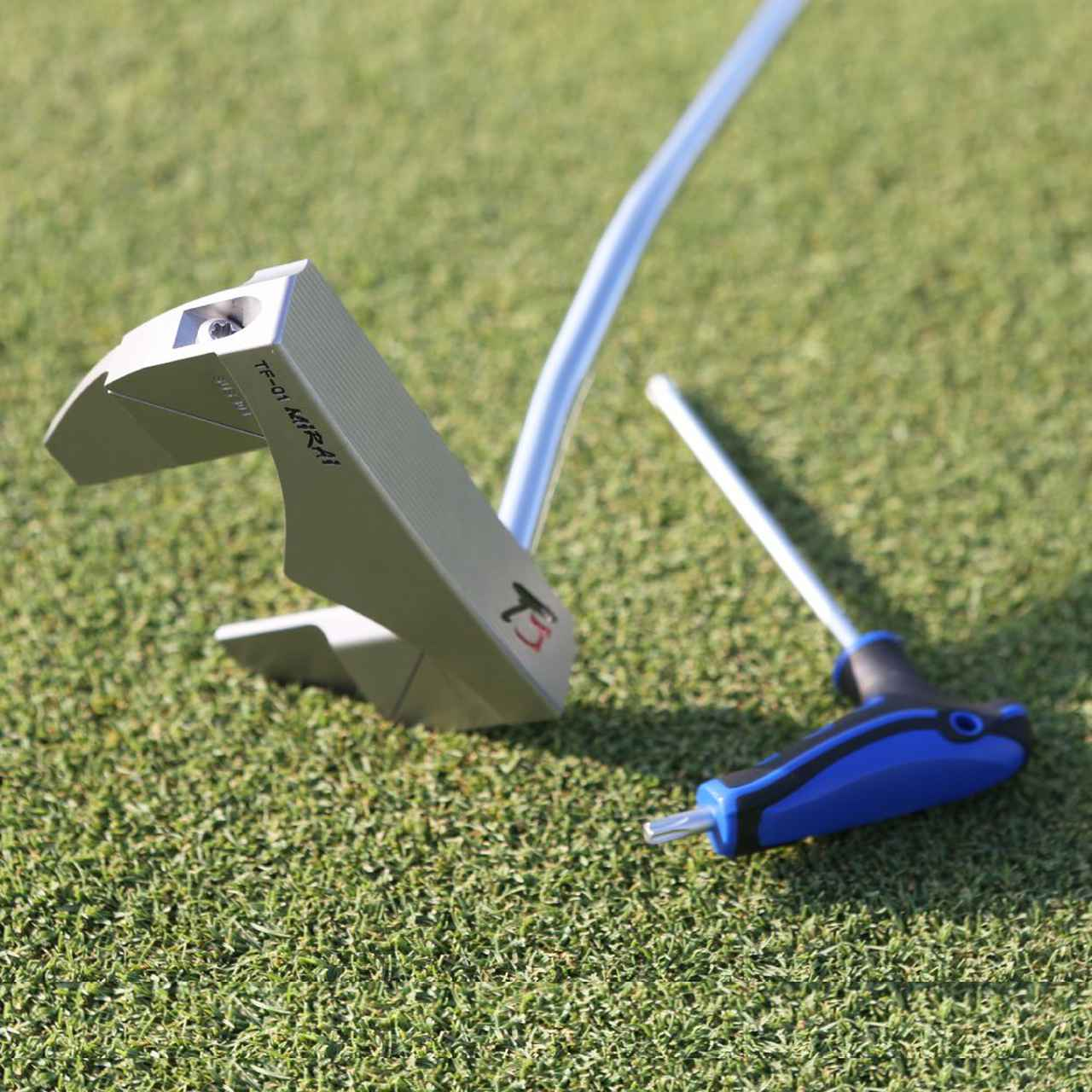 画像: 【ピン型・マレット型 2in1パター】匠ジャパン「TF-01 Mirai」 ※購入特典あり-ゴルフダイジェスト公式通販サイト「ゴルフポケット」