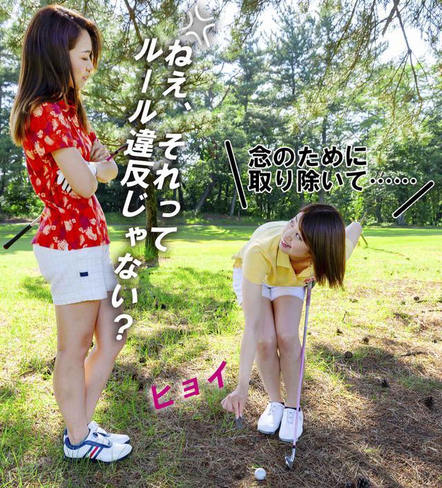 画像4: 【新ルール】地面に埋まった石を取り除きたい!! これってルール違反?