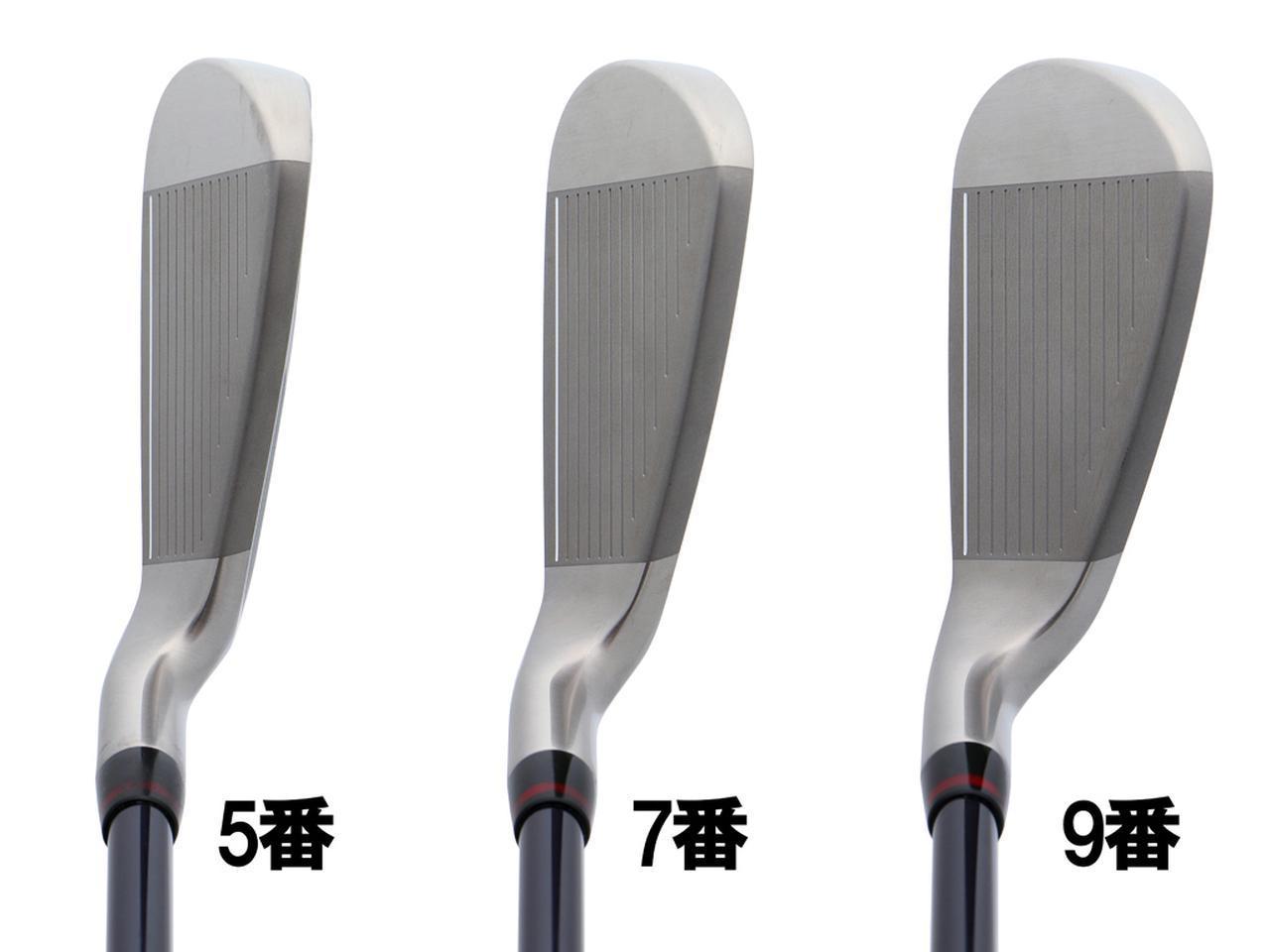 画像: 日本の芝に合う強いグースネック形状で、球をつかまえやすく、ハンドファーストに当たりやすいというメリットがある