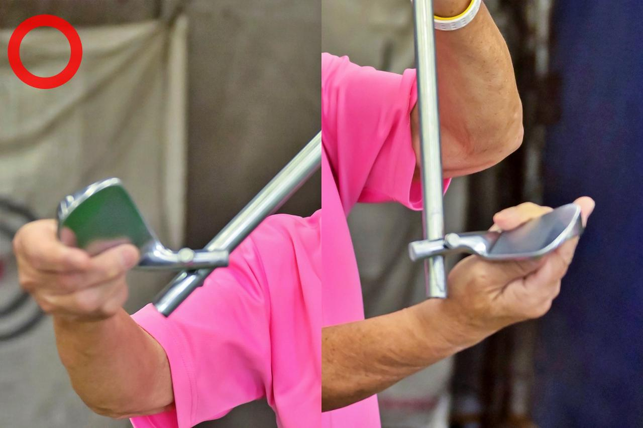 画像: 「道具は変わらない、体は毎日変わる。道具の動きのみを考えれば、力まず毎回同じように打てます」