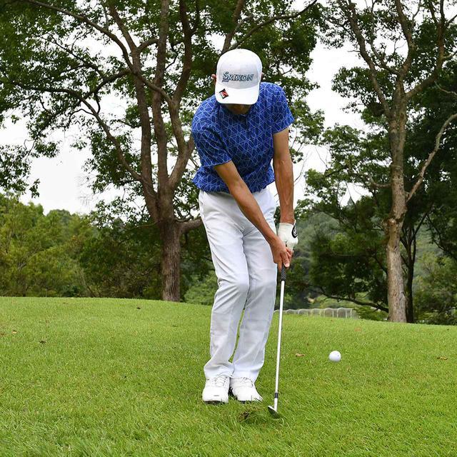 画像15: 【小技】逆目のアプローチ。距離感は? 番手は? さあ、どう打つ?