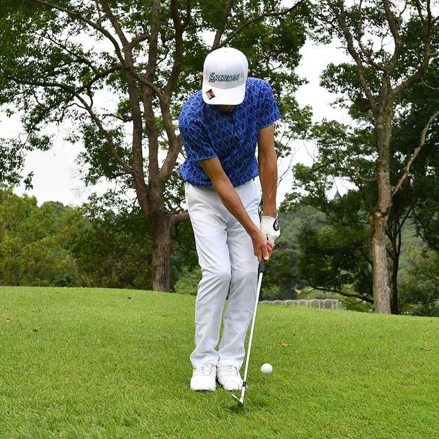 画像11: 【小技】逆目のアプローチ。距離感は? 番手は? さあ、どう打つ?