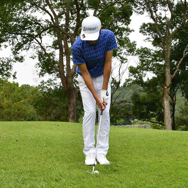 画像5: 【小技】逆目のアプローチ。距離感は? 番手は? さあ、どう打つ?