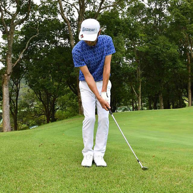 画像24: 【小技】逆目のアプローチ。距離感は? 番手は? さあ、どう打つ?