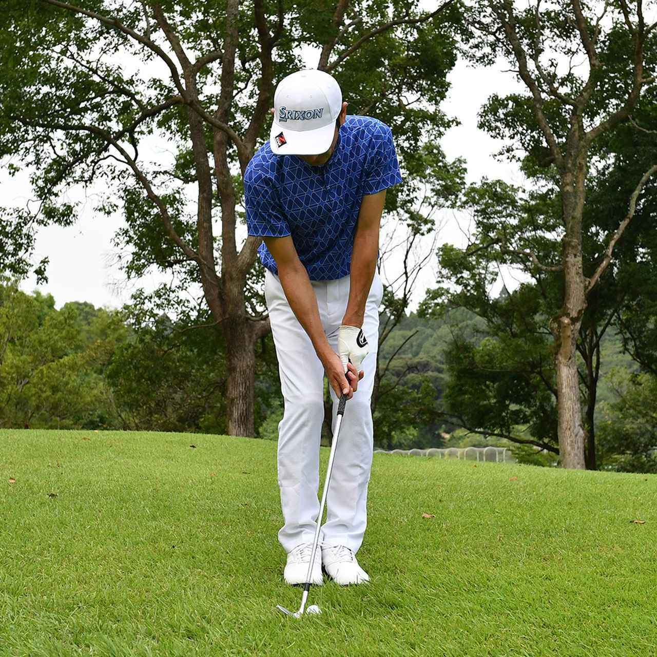 画像9: 【小技】逆目のアプローチ。距離感は? 番手は? さあ、どう打つ?
