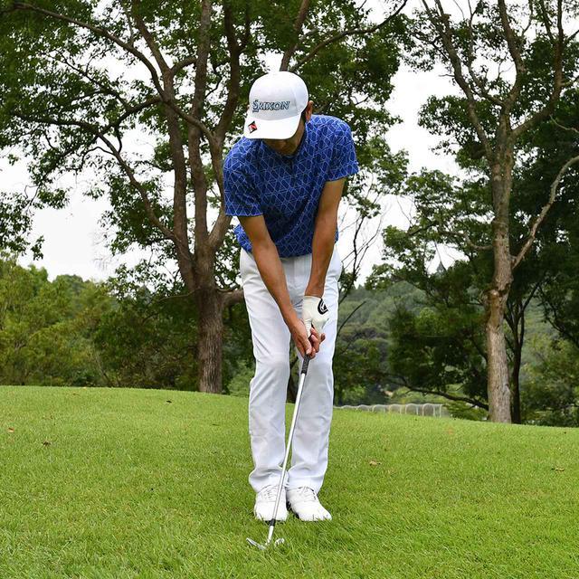 画像17: 【小技】逆目のアプローチ。距離感は? 番手は? さあ、どう打つ?