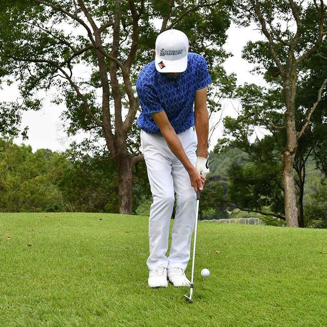 画像7: 【小技】逆目のアプローチ。距離感は? 番手は? さあ、どう打つ?