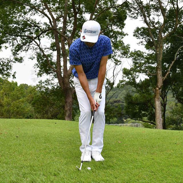 画像13: 【小技】逆目のアプローチ。距離感は? 番手は? さあ、どう打つ?