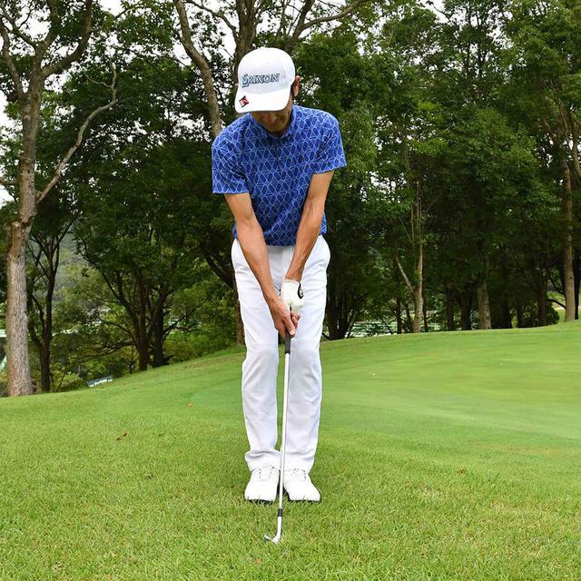 画像21: 【小技】逆目のアプローチ。距離感は? 番手は? さあ、どう打つ?