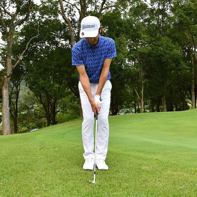 画像22: 【小技】逆目のアプローチ。距離感は? 番手は? さあ、どう打つ?