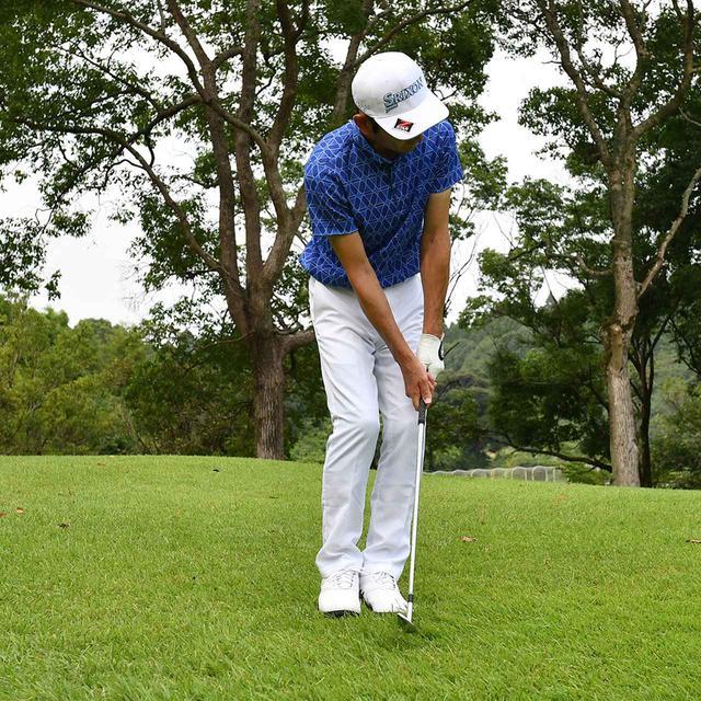 画像8: 【小技】逆目のアプローチ。距離感は? 番手は? さあ、どう打つ?