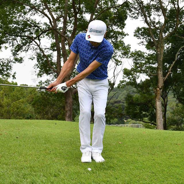 画像14: 【小技】逆目のアプローチ。距離感は? 番手は? さあ、どう打つ?