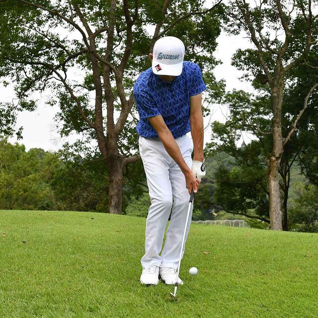 画像3: 【小技】逆目のアプローチ。距離感は? 番手は? さあ、どう打つ?