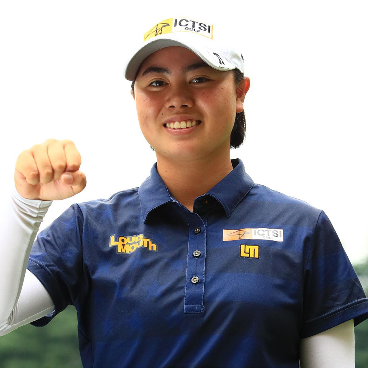 画像: 笹生優花 フィリピン生まれ。日本人の父・正和さんとフィリピン人の母のもとに生まれ、両国の国籍を持つ。東京五輪はフィリピンの代表としての出場を目指している。今年プロデビューを果たし、3戦中2勝