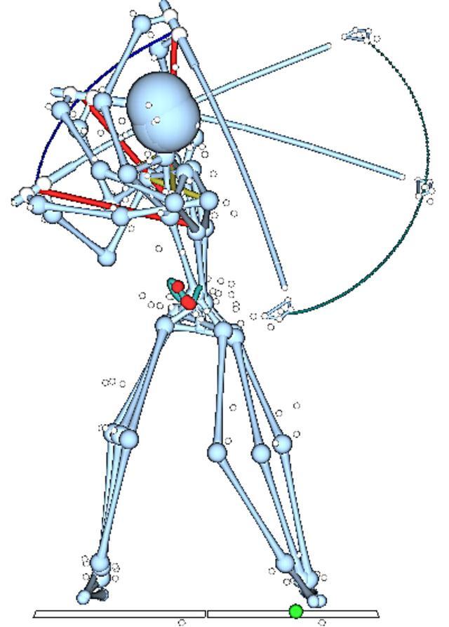 画像: 上体の柔らかさと体幹部の強さが、サドロウスキーの深いトップを可能にする。そこからクラブが体に巻きつくように体の近くを通って下りてくる