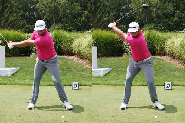 """画像1: 【通勤GD】Dr.クォンの反力打法 Vol.52 ダウンへの""""切れ目のない移行""""がスピードを生む ゴルフダイジェストWEB"""