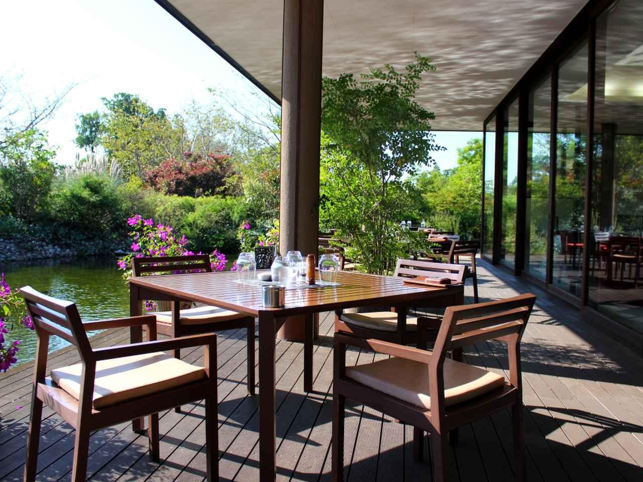 画像2: レストランでは本格料理でおもてなし。 ワイン好きは、ぜひソムリエのおすすめを堪能してみては