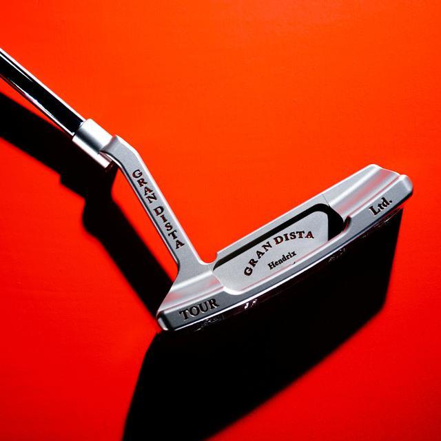画像: ジャーマンステンレススチール製「グランディスタ ヘンドリクス パター」-ゴルフダイジェスト公式通販サイト「ゴルフポケット」