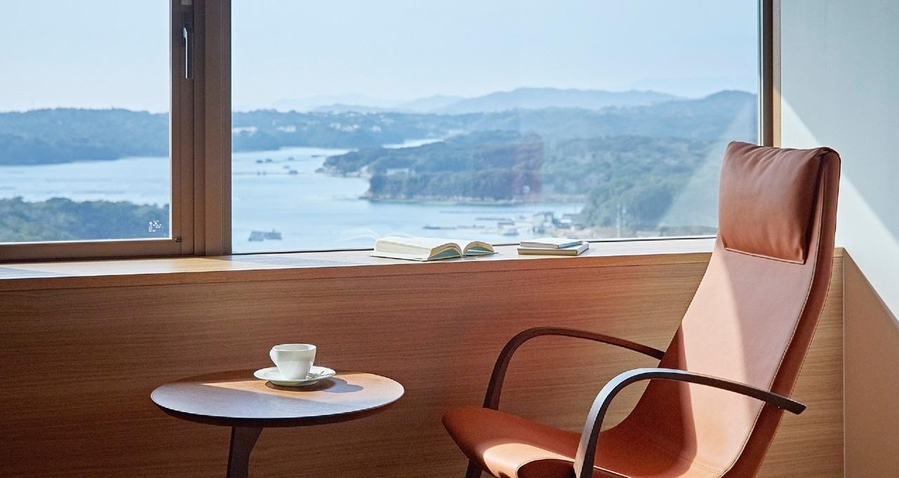 画像: 客室からの景観一例