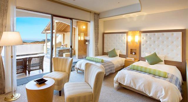 画像: ホテルアルティア 露天風呂付スーペリアルーム一例
