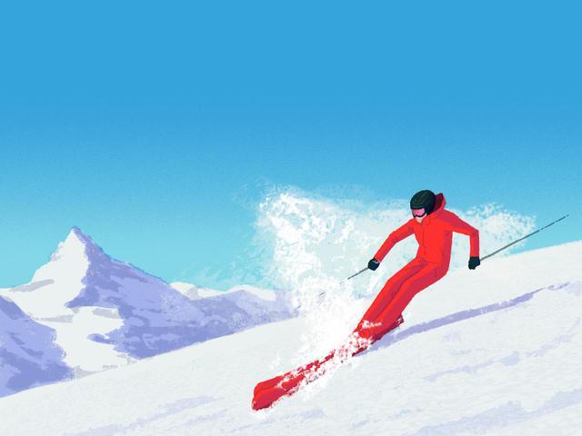画像: スキーやスノーボードなどでは、ターン直前にひざを伸ばすことで「抜重」し、その間に板を切り返すというテクニックがある。ほかにも自転車競技やモータースポーツなど、いろんなシーンで抜重は利用されている