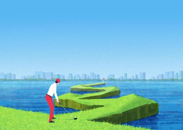 画像: ゴルフでは、他のスポーツに比べて「結果」に対する正確性が圧倒的にシビア。傾斜やライ、風などの外的状況が1 打ごとに変わるなかで、ターゲットをピンポイントに狙っていく力が求められる。だからこそ、筋力や手先に頼らず、高い再現性を可能にする「反力打法」が重要になるのだ
