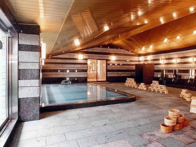 画像: 人気の温泉大浴場