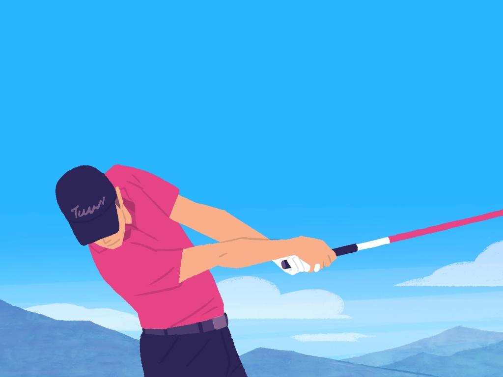 画像: 【通勤GD】Dr.クォンの反力打法 Vol.59 右肩は下がっていい ゴルフダイジェストWEB - ゴルフへ行こうWEB by ゴルフダイジェスト