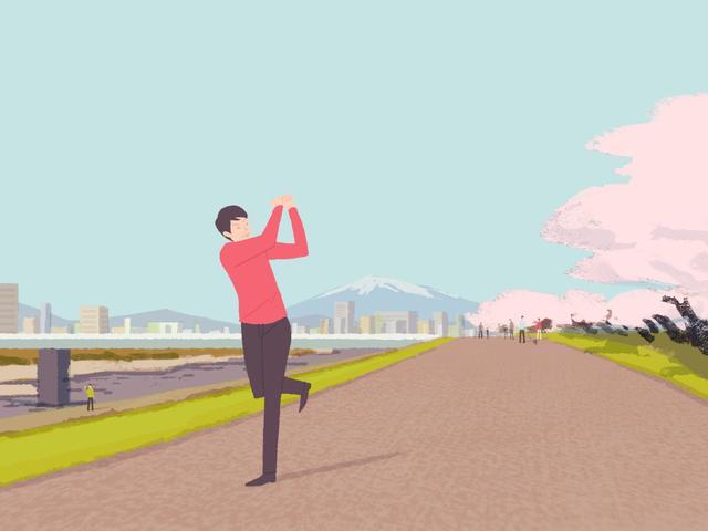 画像1: 【通勤GD】Dr.クォンの反力打法 Vol.61 らくらく矯正! 左足1本スウィング ゴルフダイジェストWEB