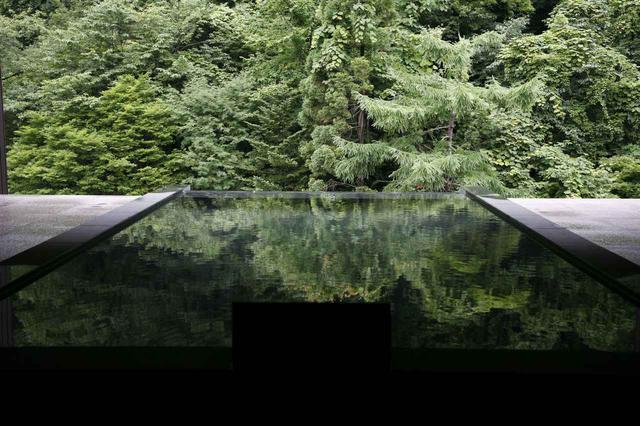 画像: 最上階露天風呂「雲井の湯」