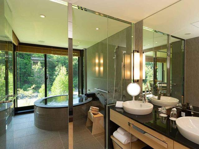画像: 客室内 展望風呂温泉
