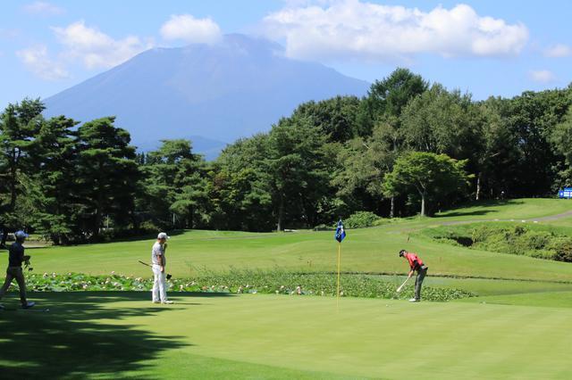 画像: 奥に見えるは岩手山。南部藩領内随一の山容という意味で南部富士ともいわれる。