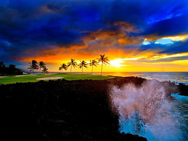 画像: ハワイ島「ワイコロア・ビーチコース」