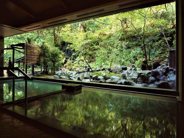画像: 登別温泉郷 滝乃家 大浴場