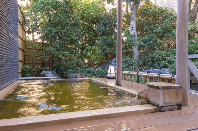 画像: 天然一宮温泉の露天風呂