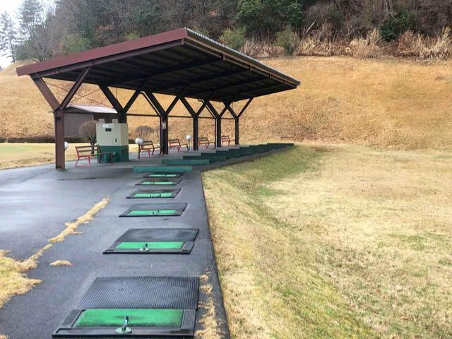 画像: オータニにしきカントリークラブの練習施設